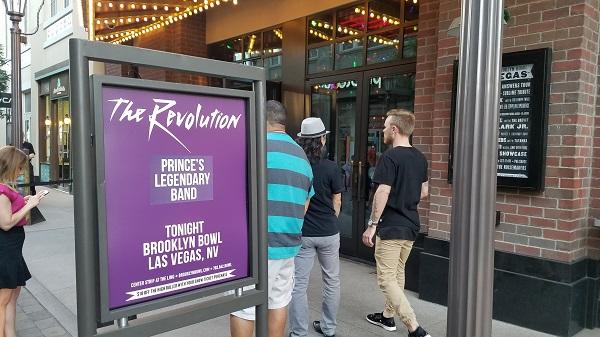 Prince The Revolution Brooklyn Bowl Vegas