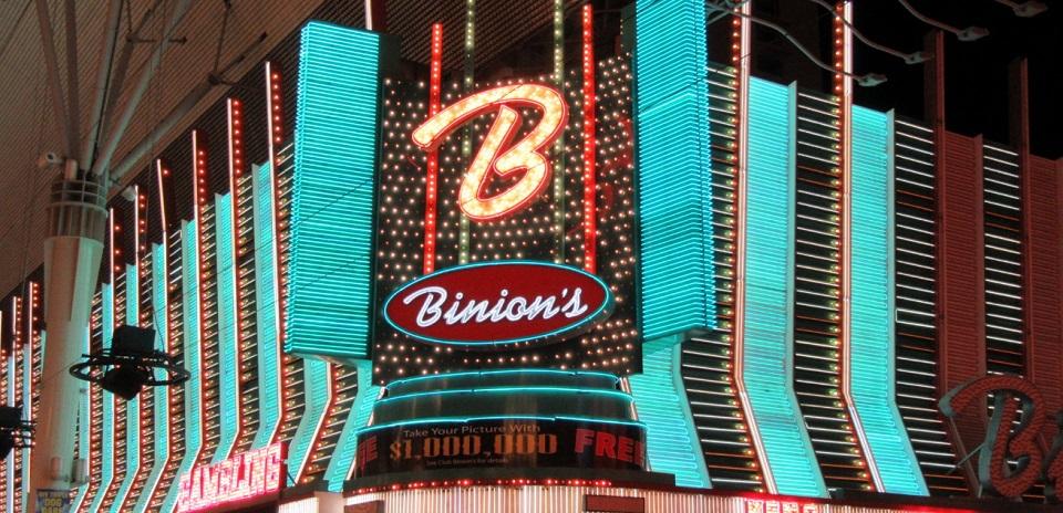 Binion's Cafe Gets a MenuUpgrade