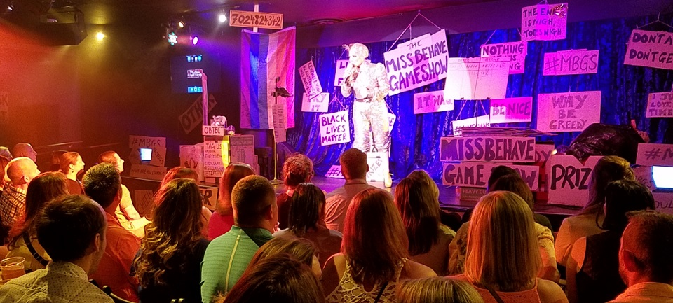 "Run, Don't Walk to ""Miss Behave Gameshow"""