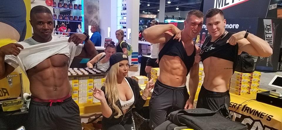 Mr. Olympia Fitness Fans Flood SinCity