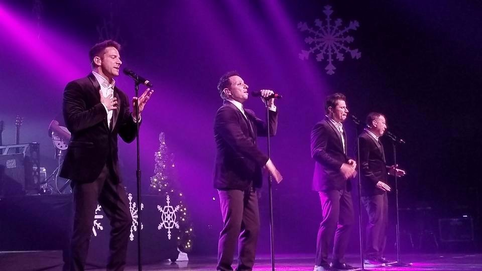 Get Sweaty for Christmas with 98 Degrees