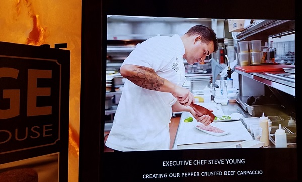 Chef Steve Young Edge Steakhouse