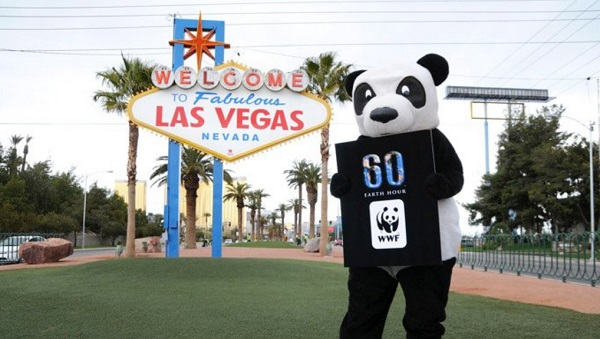 Earth Hour Vegas 2018