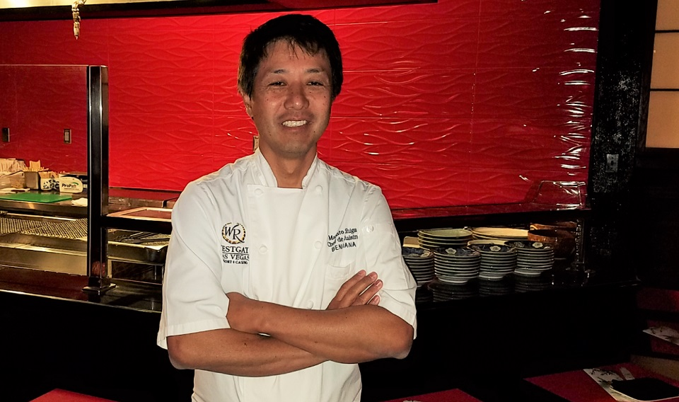 Westgate's Culinary Superstars: Chef MasatoShiga