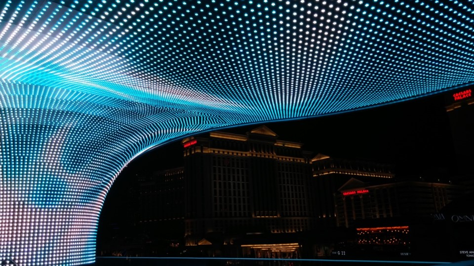 "Hidden Vegas: Into ""The Vortex"" at Linq Hotel"