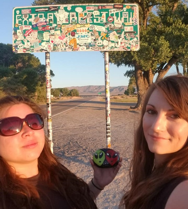 Area 51 Alien Head Geocaching