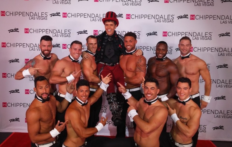 PEREZ HILTON -Breaking The Rules (and making some new ones) at Chippendales