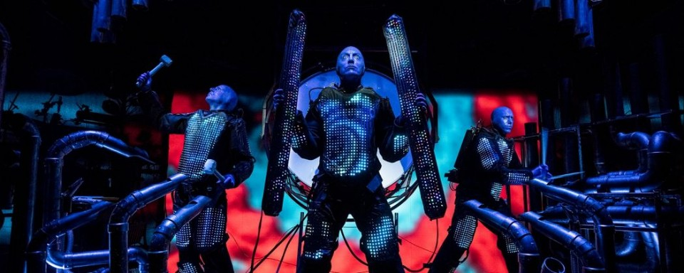 Blue man group fresh and vibrant as ever vegas unfiltered by sammasseur - Blue man group box office ...