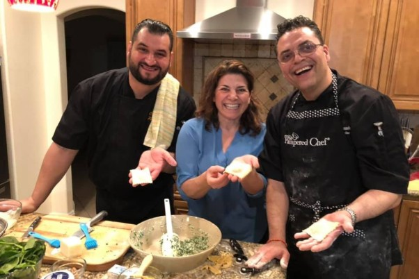 "Local ""Pampered Chefs"" Bring the Excitement of Italy to Your Home"