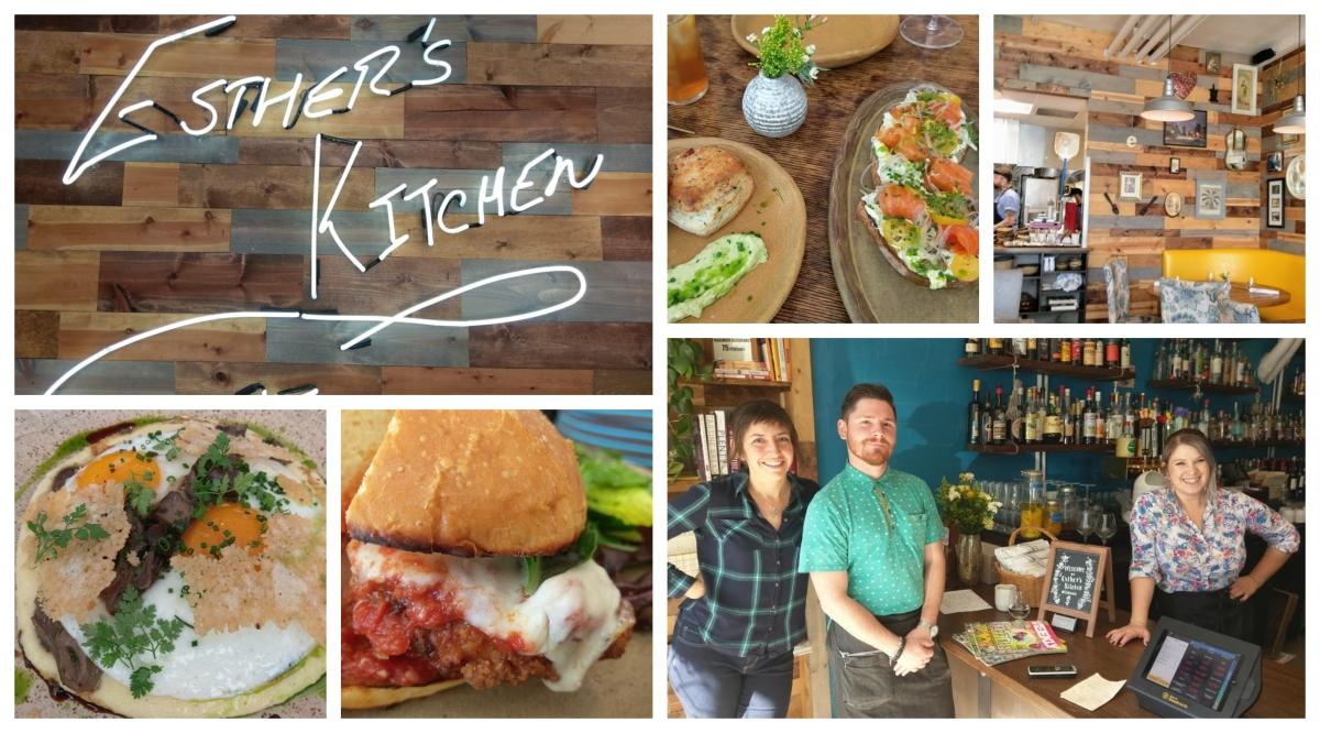 Esther's Kitchen Turns Brunch IntoArt