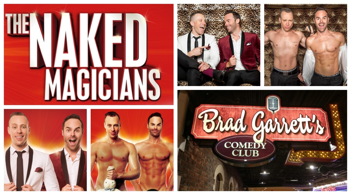 """Inside """"The NAKED MAGICIANS"""" at MGMGrand"""