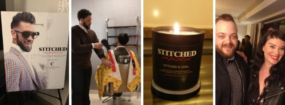 STITCHED & CHILL at Cosmo Delivers the Ahhhhs….