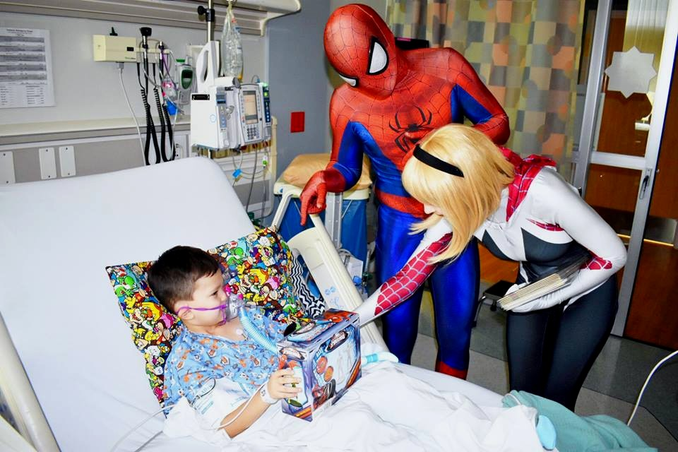 Critical Care Comics: Superheroes for Ailing Children