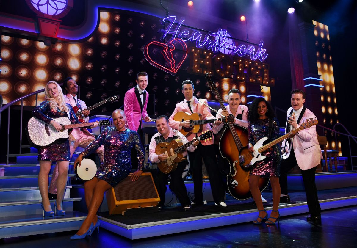 ELVIS IS BACK IN VEGAS WITH 'HEARTBREAK HOTEL IN CONCERT'