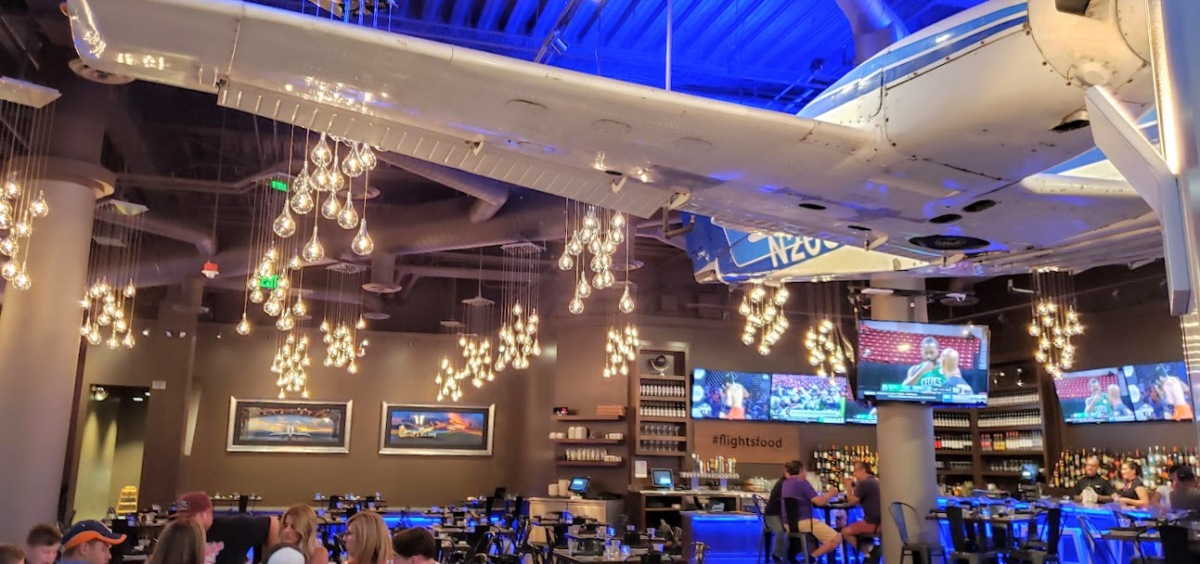 NEW FLIGHTS RESTAURANT EVOKES THE HEYDAY OF AIR TRAVEL