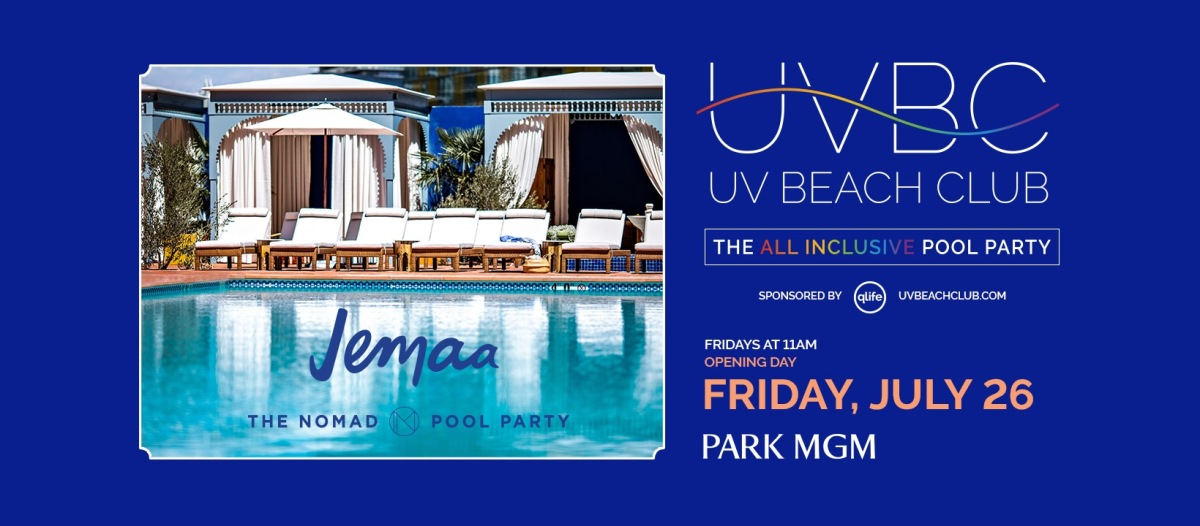 UV Beach Club – A Pool Party with a Purpose