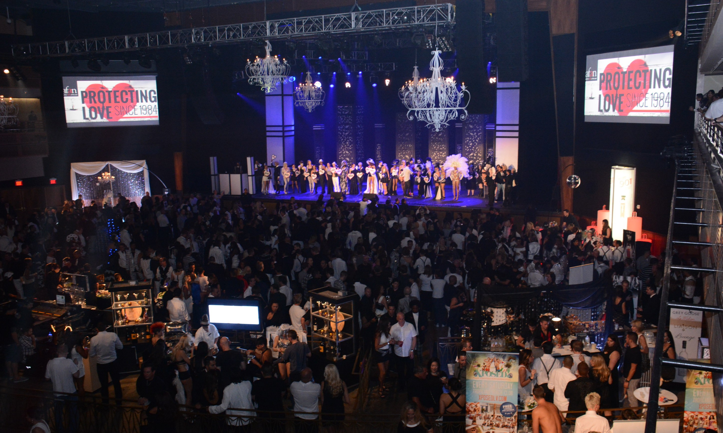 Guests fill The Joint for Black & White Party