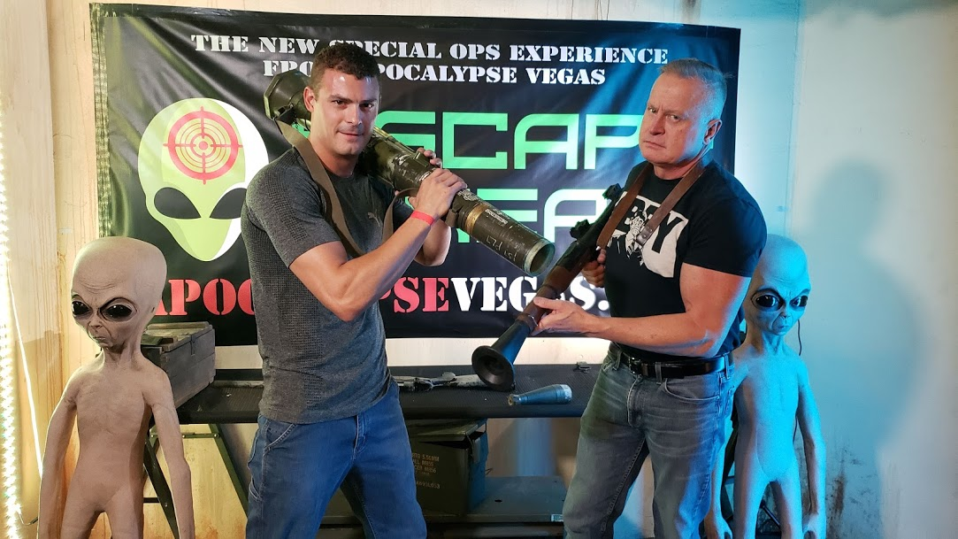 'ESCAPE FROM AREA 51' BRINGS EXTRATERRESTRIAL BATTLES TO VEGAS