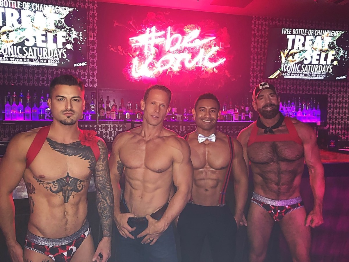 Hot Guys of Vegas: Men of Iconic
