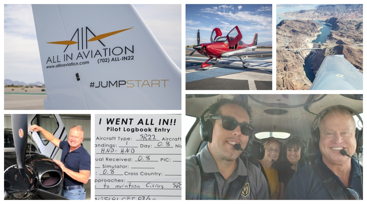 Rule The Skies with Vegas Flight Experiences at 'All In Aviation'