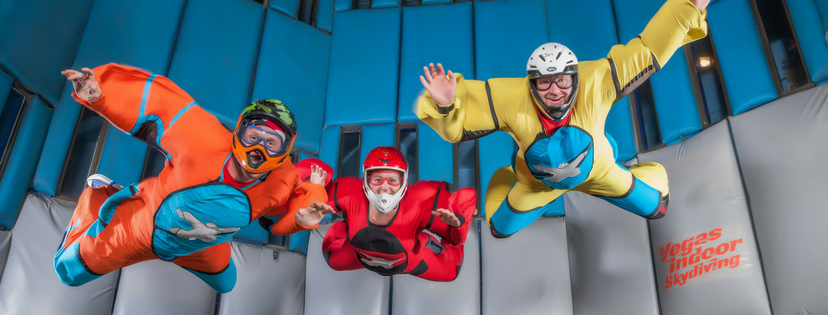 LEARN TO SOAR INDOORS AT VEGAS INDOOR SKYDIVING
