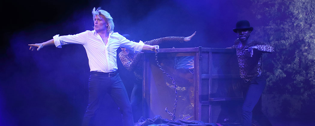 NEED FOR SPEED: HANS KLOK IS 'THE WORLD'S FASTEST MAGICIAN' IN NEWSHOW