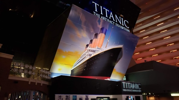 TRAVEL BACK IN TIME AT TITANIC: THE ARTIFACT EXHIBIT