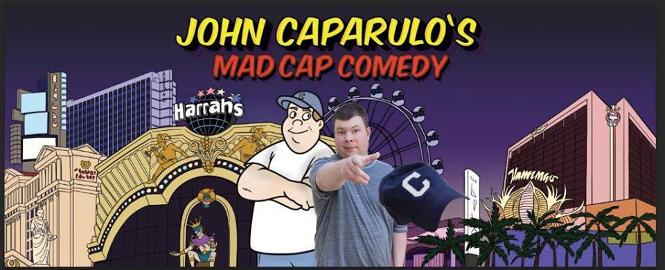 JOHN CAPARULO BRINGS BLUE-COLLAR COMEDY TO VEGAS