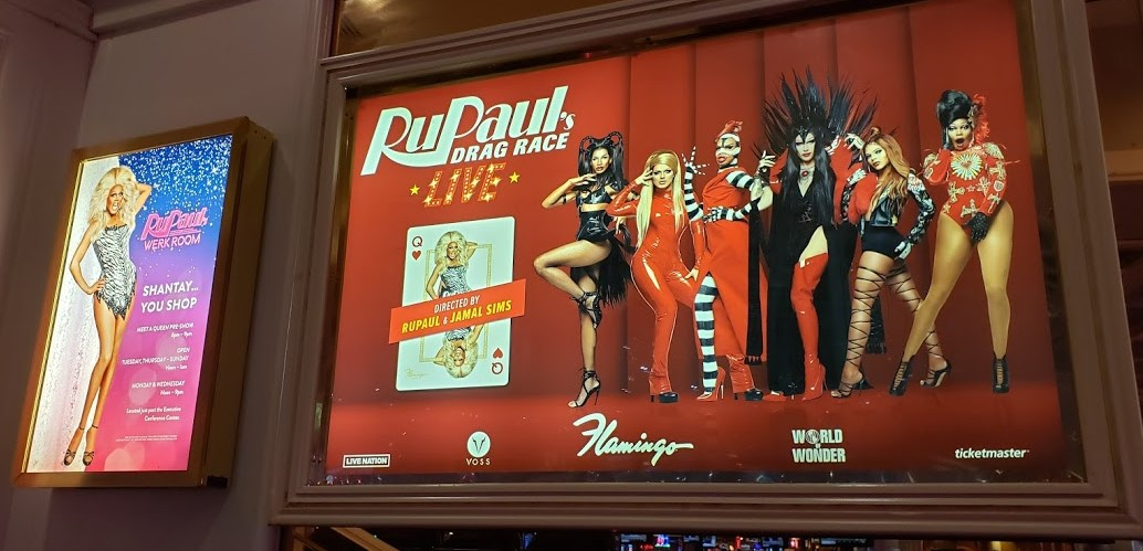 INSIDE THE PREMIERE OF 'RUPAUL'S DRAG RACE LIVE' AT THEFLAMINGO