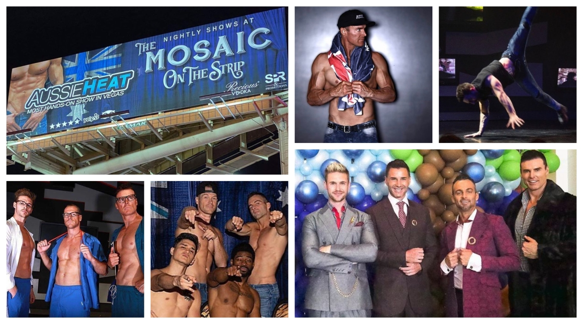 New 'AUSSIE HEAT' Show Debuts at MOSAIC ON THE STRIP