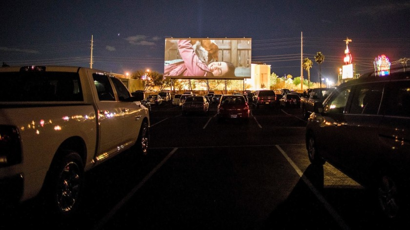 Las Vegas Drive-in Theater is a Virus-Safe Cure for Cabin Fever