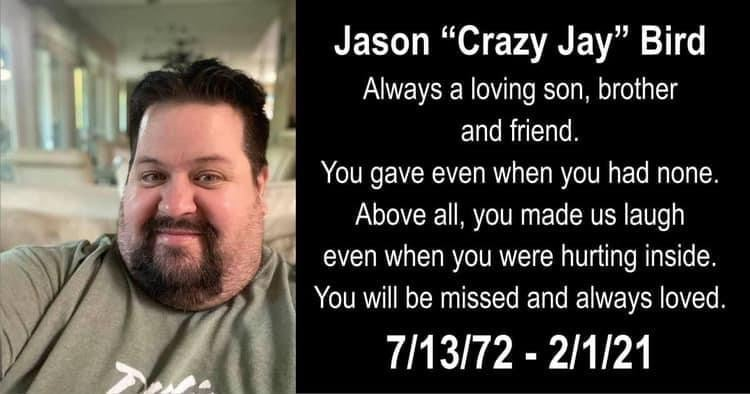 "Remembering Jason ""Crazy Jay"" Bird of 'ROCKING COMEDY SHOW'"