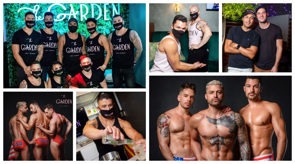 Hot Guys of Vegas: Men of 'The Garden'