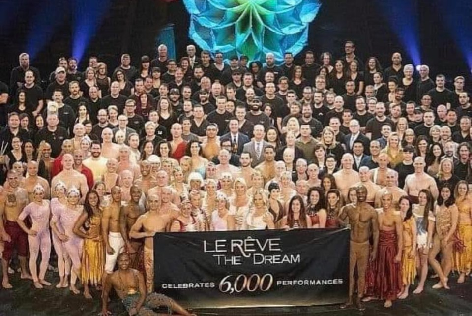 "Farewell to ""Le Reve – The Dream"" at Wynn"