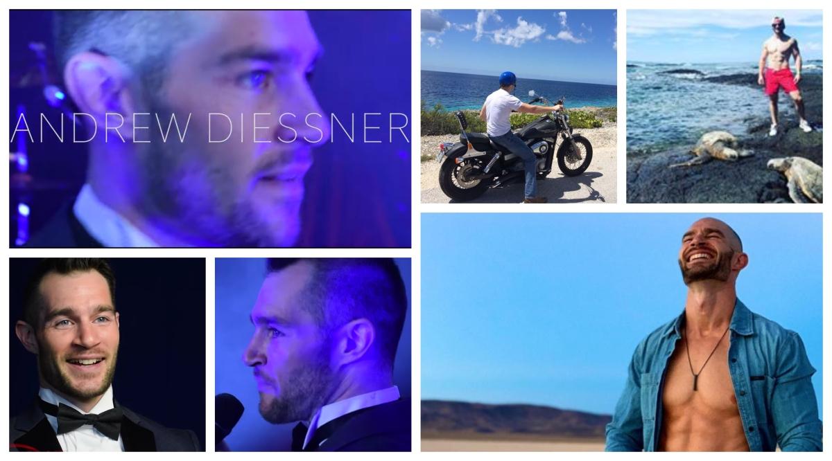 Hot Guys of Vegas: Andrew Diessner, EntertainerExtraordinaire