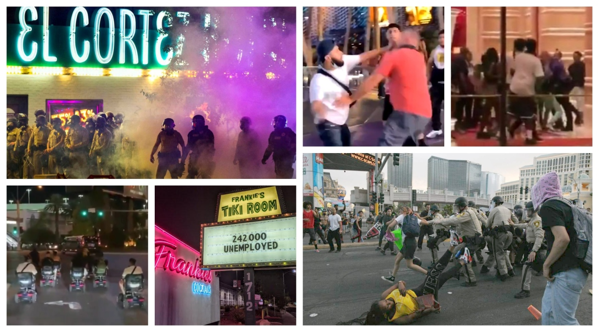 Las Vegas 2020 Is A Dangerous, Violent Free-For-All