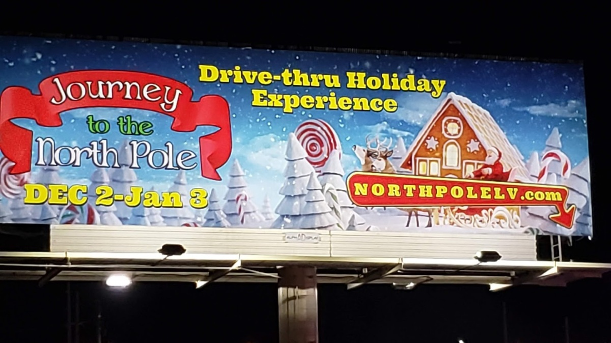 'JOURNEY TO THE NORTH POLE' Brings Snowy Cheer to Sin City