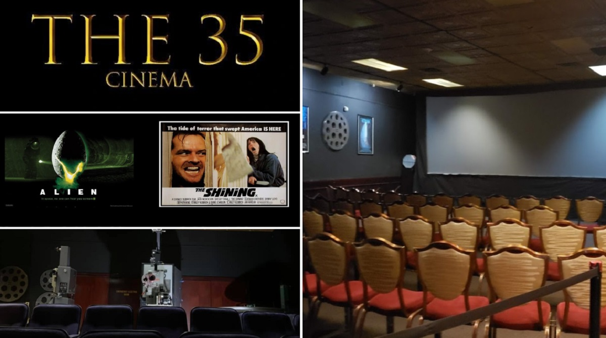 Relive Your Hollywood Favorites The Authentic Way at 'The 35 CINEMA'