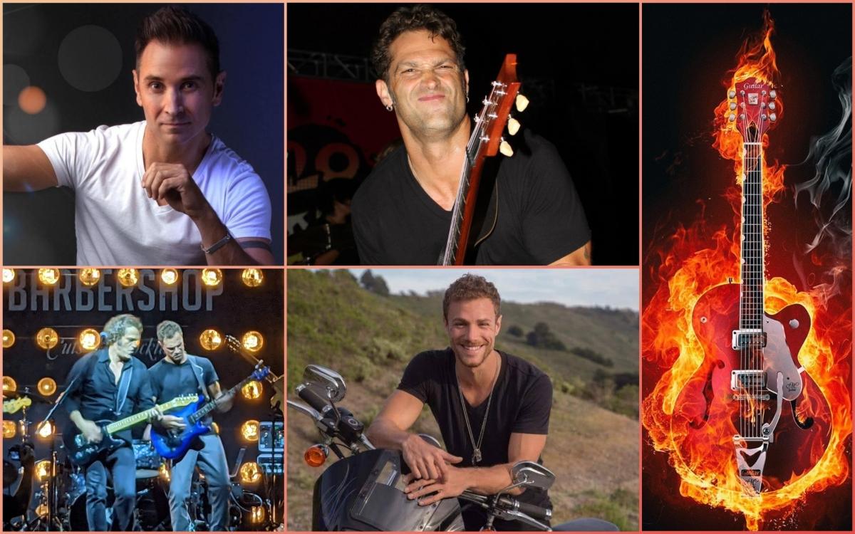 Hot Guys of Vegas: GuitarHeroes